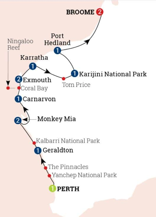 Wonders of the Pilbara and West Coast