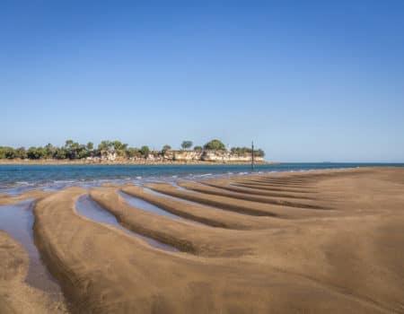 Cullen Bay sandbar