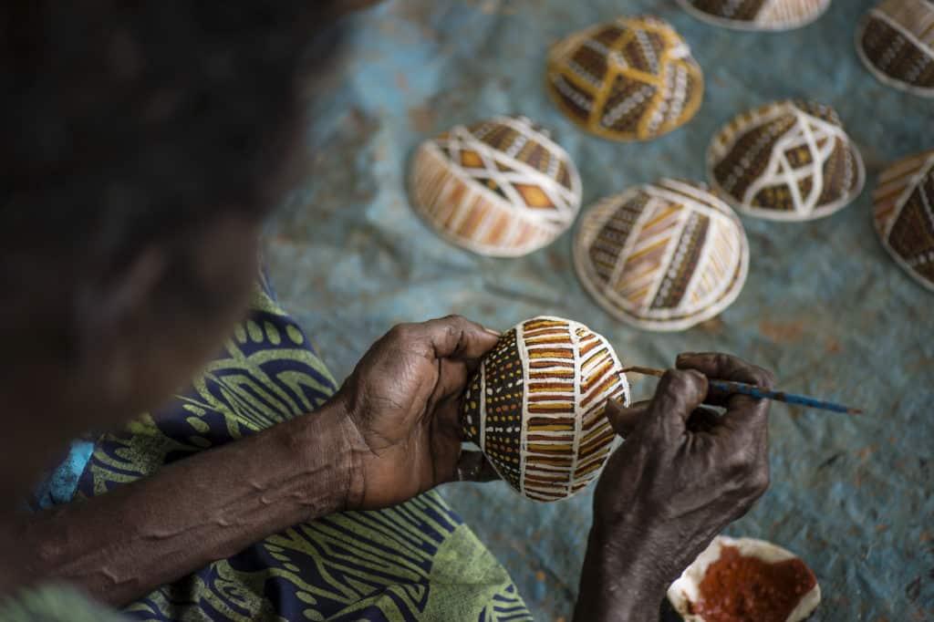 Tiwi crafts
