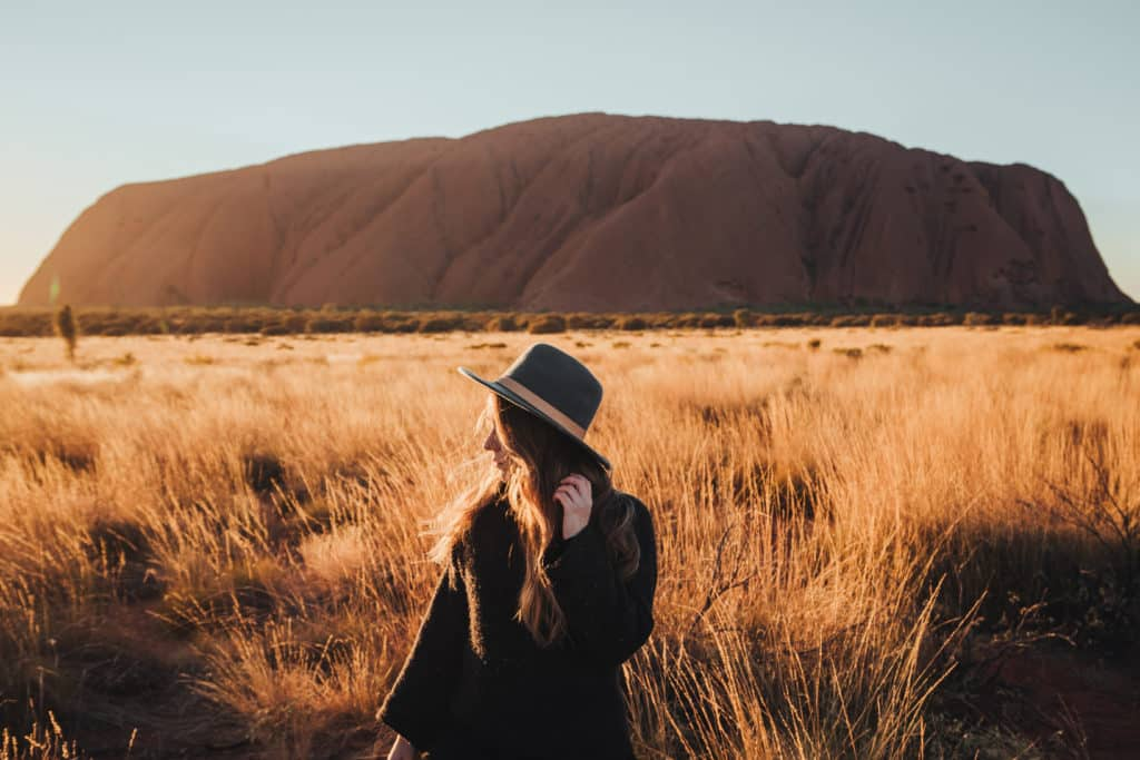 Explore Uluru at sunset