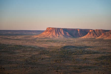 Helicopter tour over Watarrka National Park
