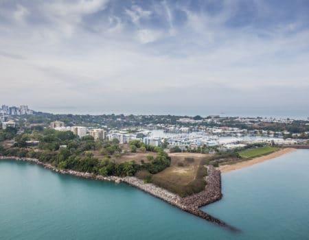 Nautilus Aviation tours over Darwin