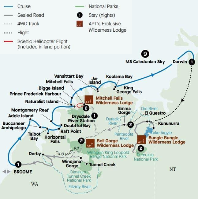 Iconic Kimberley and Grand Cruise